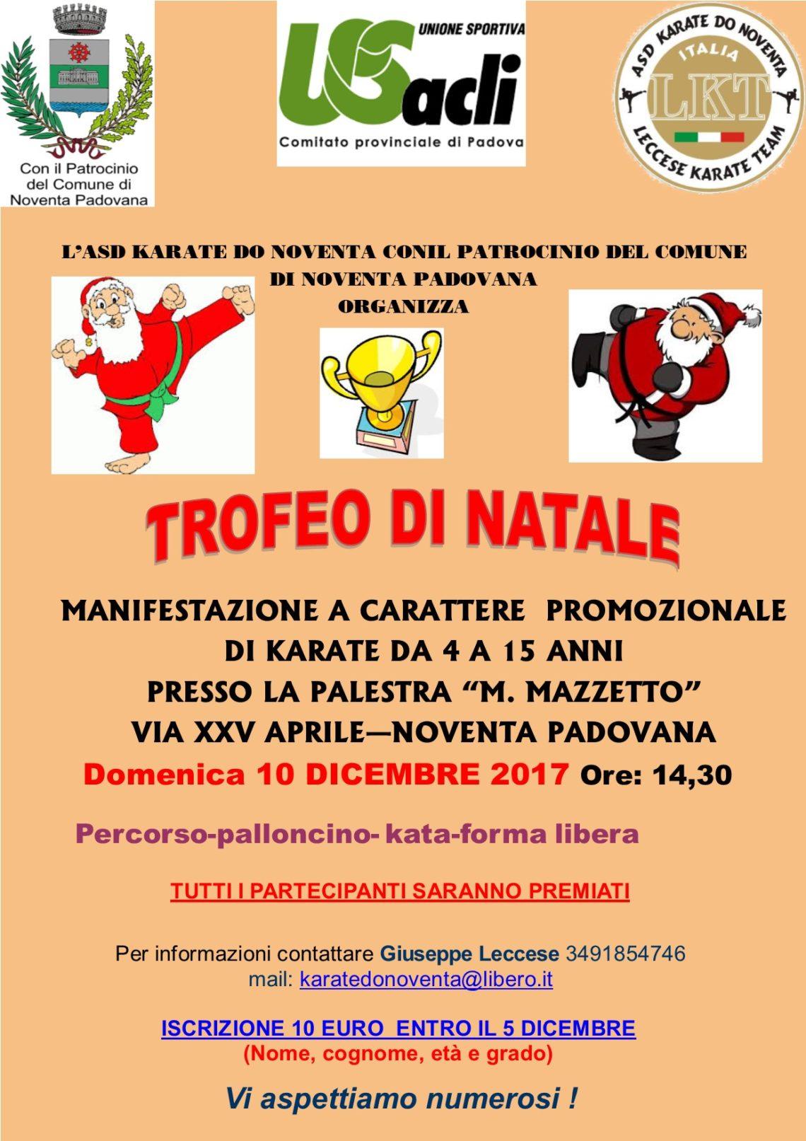 Immagini Karate Natale.Trofeo Di Natale Di Karate Domenica 10 Dicembre Us Acli